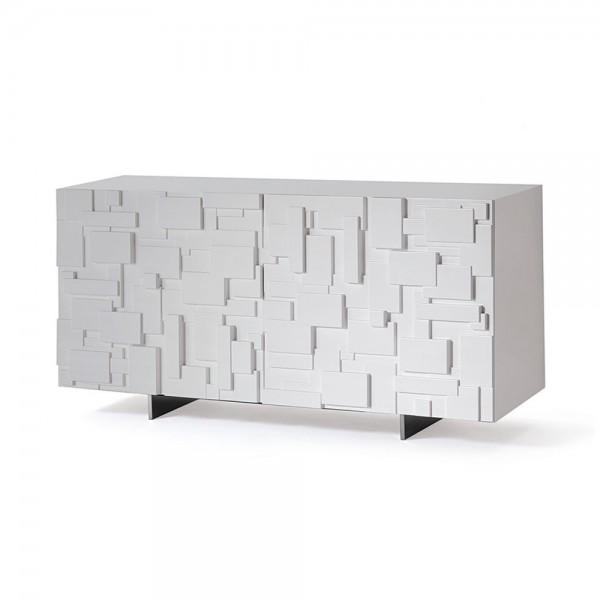 """Sideboard """"Labyrinth"""" von cattelan italia - in Weiß"""