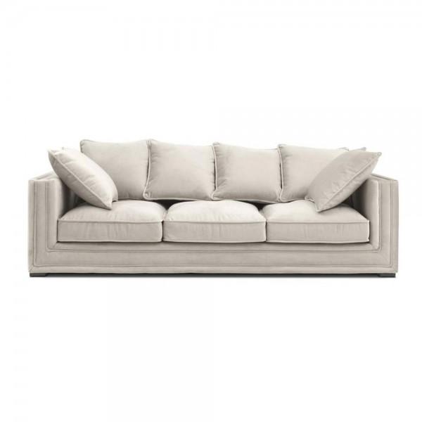 """Graubeiges Sofa """"Menorca"""" von Eichholtz"""