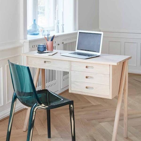 """Hübsch interior Schreibtisch """"Saga"""" Eiche"""