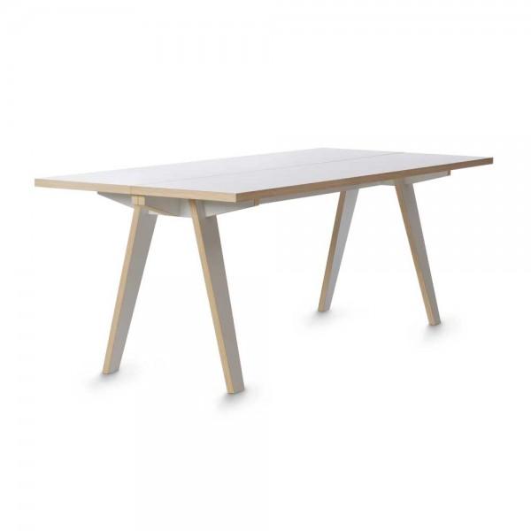 """Tojo Tisch """"Steck"""" in Weiß"""