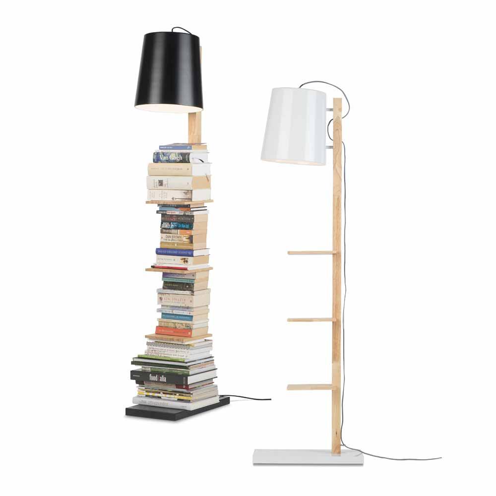 Stehlampe Mit Regal Online Bei Milanari Com