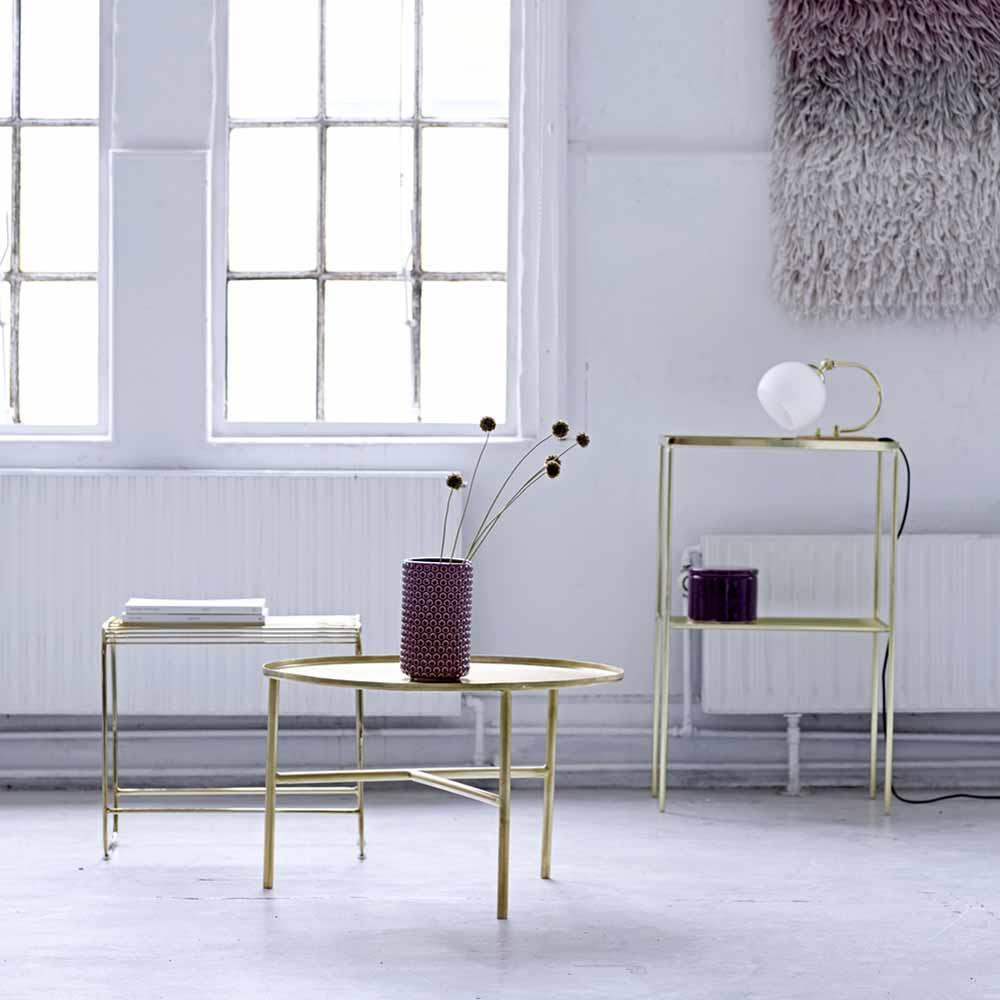 beistelltisch aus metall von bloomingville online bei. Black Bedroom Furniture Sets. Home Design Ideas