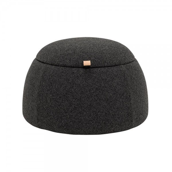 "Bloomingville Pouf ""Rock - in Anthrazit"