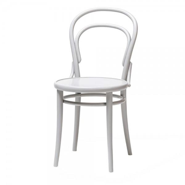 """Stuhl """"14"""" von TON in Weiß"""