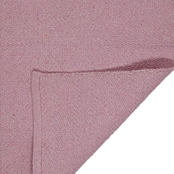 """Baumwollteppich """"Herringbone"""" von liv interior - in Rosa"""