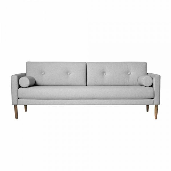 "Bloomingville Sofa ""Calm"" - aus grauer Baumwolle"