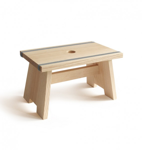 "side by side design Schemel ""Little Stool"" grau"