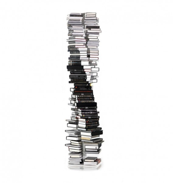 """Weißes Bücherregal """"DNA"""" von cattelan italia"""