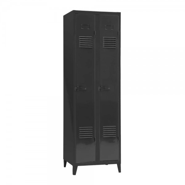 gro artig spind schrank metall zeitgen ssisch die. Black Bedroom Furniture Sets. Home Design Ideas