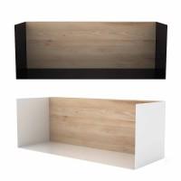 """Regal """"U-Shelf M"""" Eiche & Metall"""