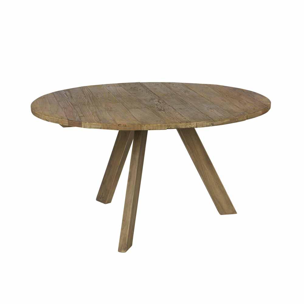 Rustikale esstische tische aus holz for Designer esstisch rund