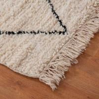 Wollteppich beige  Teppiche in Beige online bei milanari.com bestellen