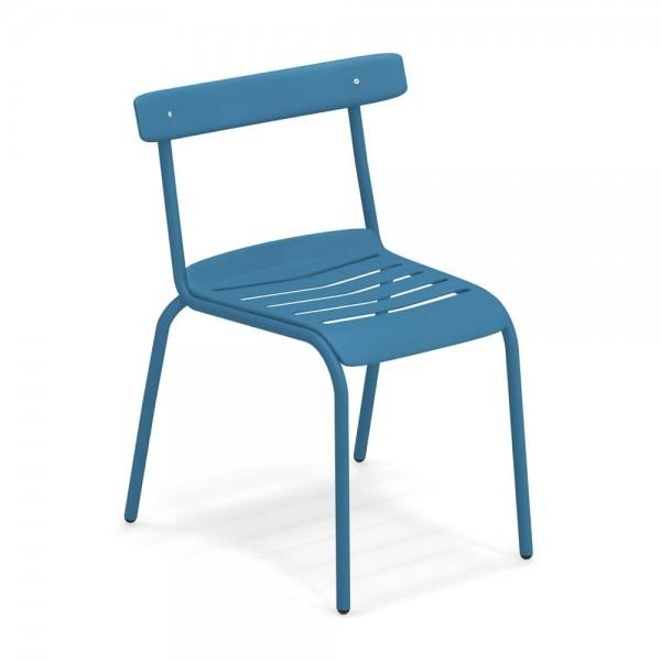 """Gartenstuhl """"Miky"""" von EMU in Blau"""