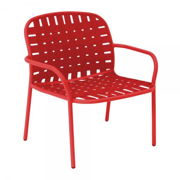 """Loungesessel """"Yard"""" von EMU - in Rot"""