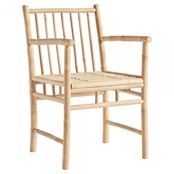 """Armlehnstuhl """"Banto"""" ohne Sitzkissen - aus Bambus"""