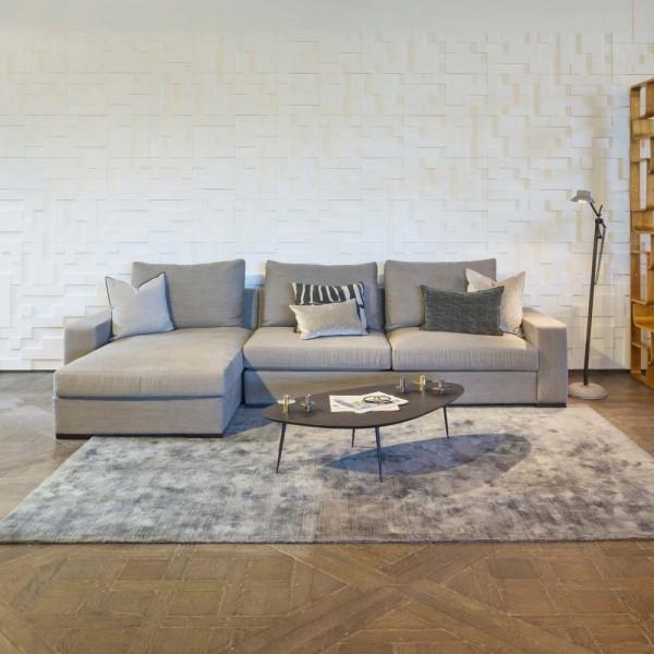 "marie's corner Sofa ""Branson"" in Grau"