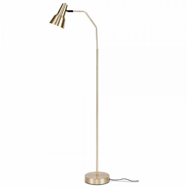 "Stehlampe ""Veerle"" in Gold"