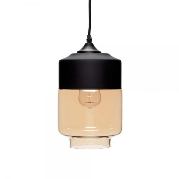 h ngelampe aus glas metall. Black Bedroom Furniture Sets. Home Design Ideas
