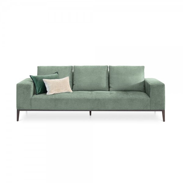 "Samt-Sofa ""Michigan"" in Mint"