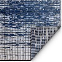 """Outdoor-Teppich """"Delmar"""" in Blau"""