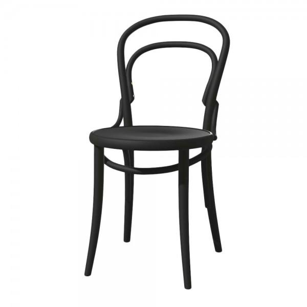 """Stuhl """"14"""" von TON in Schwarz"""
