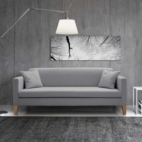 """Sofa """"Eras"""" 3-Sitzer (grau)"""