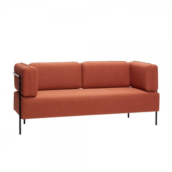 """Sofa """"Anders"""" von Hübsch interior - hellbrauner 2,5-Sitzer"""