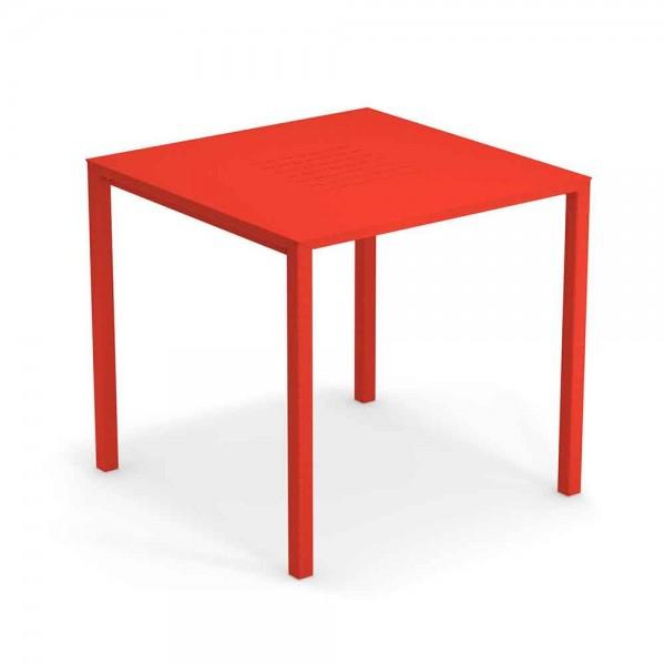 """Gartentisch """"Urban"""" von EMU - in Rot"""