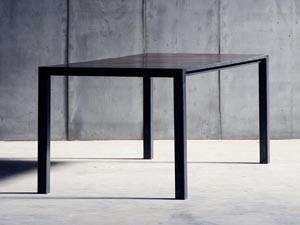 Esstisch schwarz  Schwarze Esstische | Holztische und Metalltische