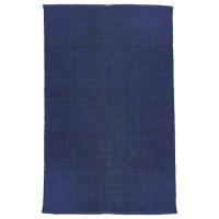 """liv interior Baumwollteppich - rechteckig """"Herringbone"""" (blau)"""